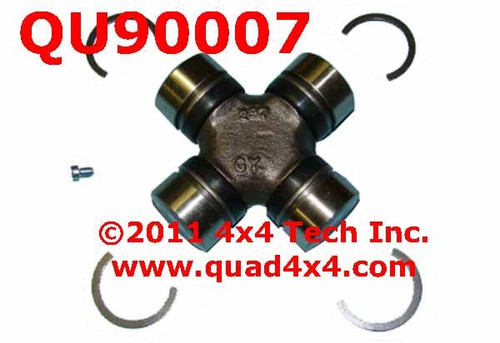 QU90007 Greaseable Front Axle U-Joint for Dana 30, Dana 44, GM 10 Bolt