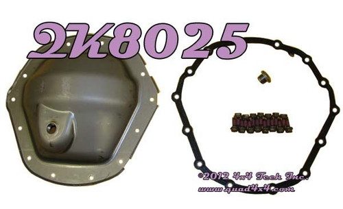"""QK8025 Ram AAM 1150 11-1/2"""" Steel Rear Axle Differential Cover Kit"""