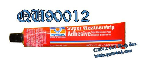 QU90012 SUPER WEATHERSTRIP