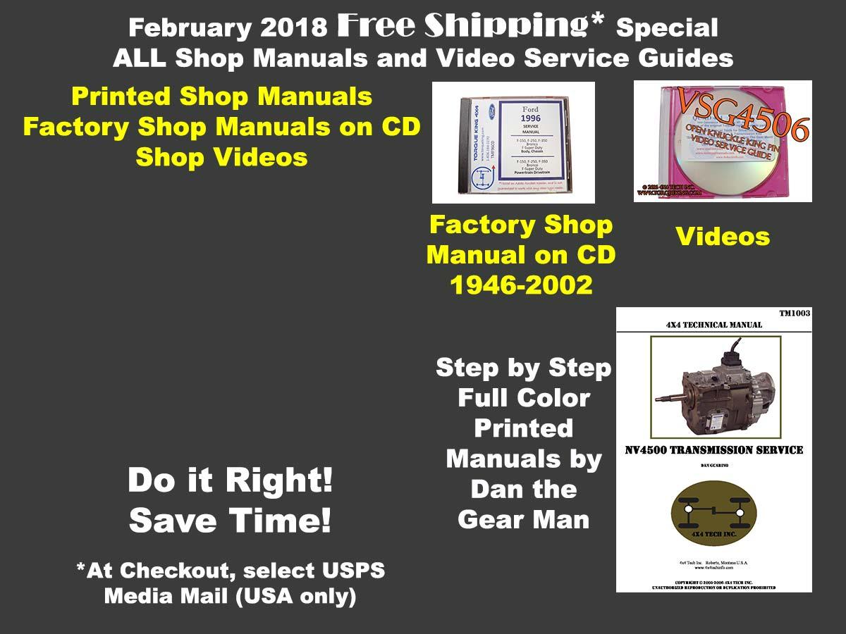 Feb 2018 Free Ship Promo