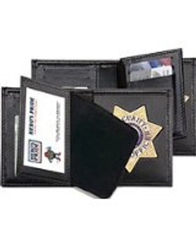 Hero's Pride  Deluxe Leather Badge Wallet for 7-Point Star