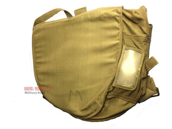 USGI MILITARY GAS MASK BAG OD SMALL GAME BAG SHOULDER BAG SURVIVAL VERY GOOD