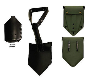 Entrenching Tool E-Tool Heavy Duty Tri-Fold Shovel Import