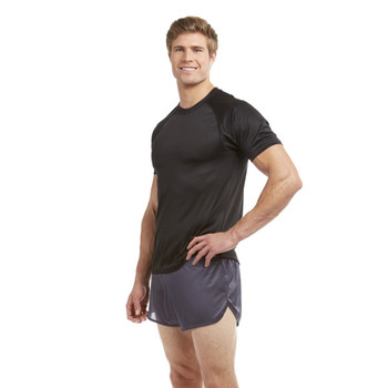Soffe Authentic Running Track Shorts PT Training Silkies Ranger Panties Black NEW