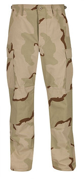 BIG & TALL PROPPER 3 COL DESERT BDU PANTS COMBAT TROUSERS 50 NYLON/50 COTTON