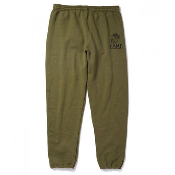 Soffe USMC Authentic Marine Issue Heavyweight Sweatpants USA Made S M L XL 2 NEW