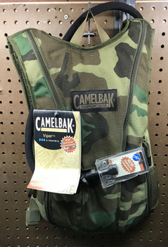 Camelbak Maximum Gear Viper Woodland Camo Hydration Pack 3.1L 102oz NEW