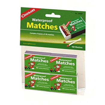 Coghlans Waterproof Matches - 160 Matches