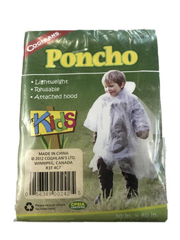 Coghlans Emergency Poncho One Size Fits All