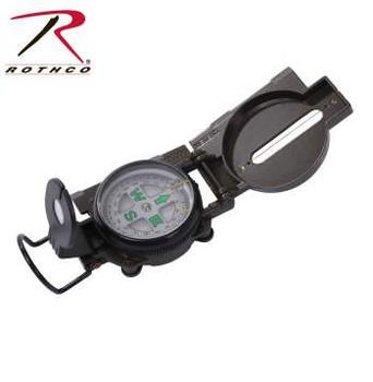Rothco Military Lensatic Metal Compass with Dial