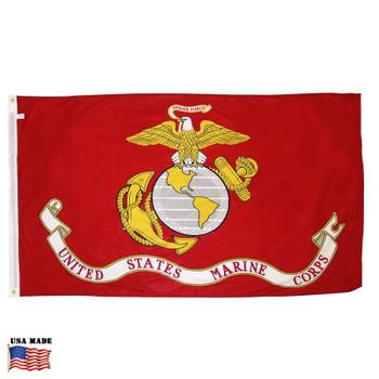 USMC Marine Corps Flag Nylon Made in USA