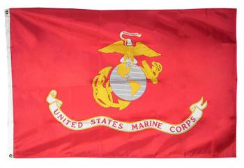 USMC Marine Corps Polyester Flag