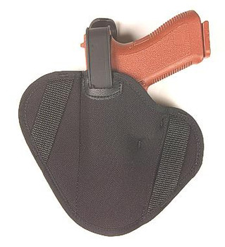 "Raine Ambidextrous Belt Side Holster - Black 92(4 1/2"" - 5"" Barrels)"