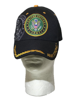 U.S. Army Strong Black Cap