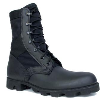 Original USGI Black Jungle Boots Spike Protective NEW 10R Made in USA