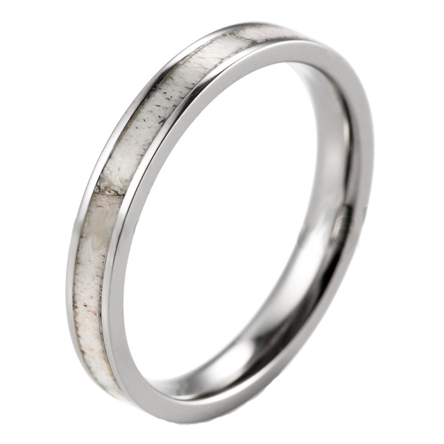 women's antler ring