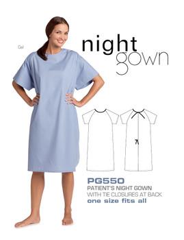 Mobb patient gowns