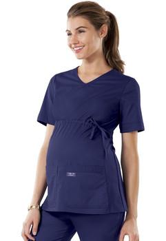 maternity scrub top