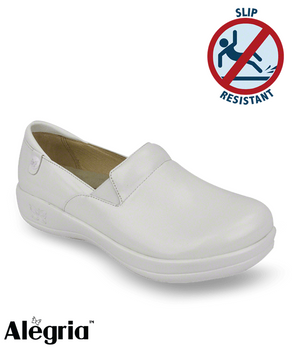 Alegria White Nursing Shoe