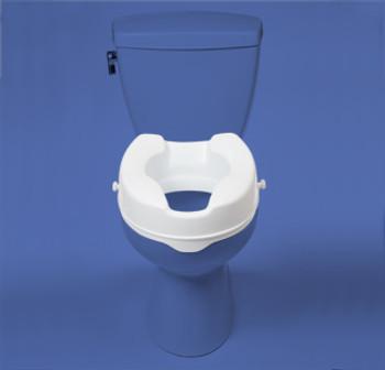 2' raised toilet seat