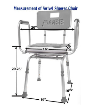 Mobb swivel chair