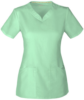 Code Happy Scrub Top