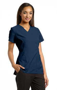 White Cross scrub Top
