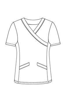 white cross TGC print