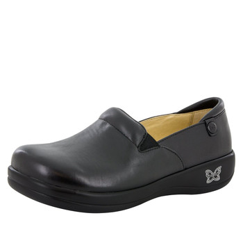 Alegria Keli Shoe in Black Nappa Side