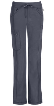 Infinity by Cherokee Petite Low Rise Straight Leg Drawstring Pant (1123AP)