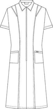 Scrub Depot - Scrub Dresses Front Raw