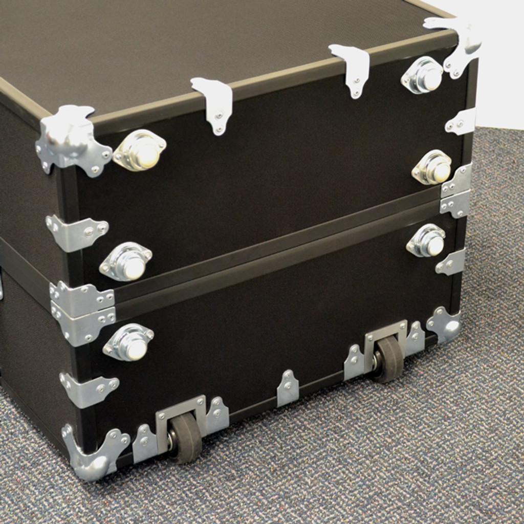 Rhino Traditional Travel Wardrobe Trunk