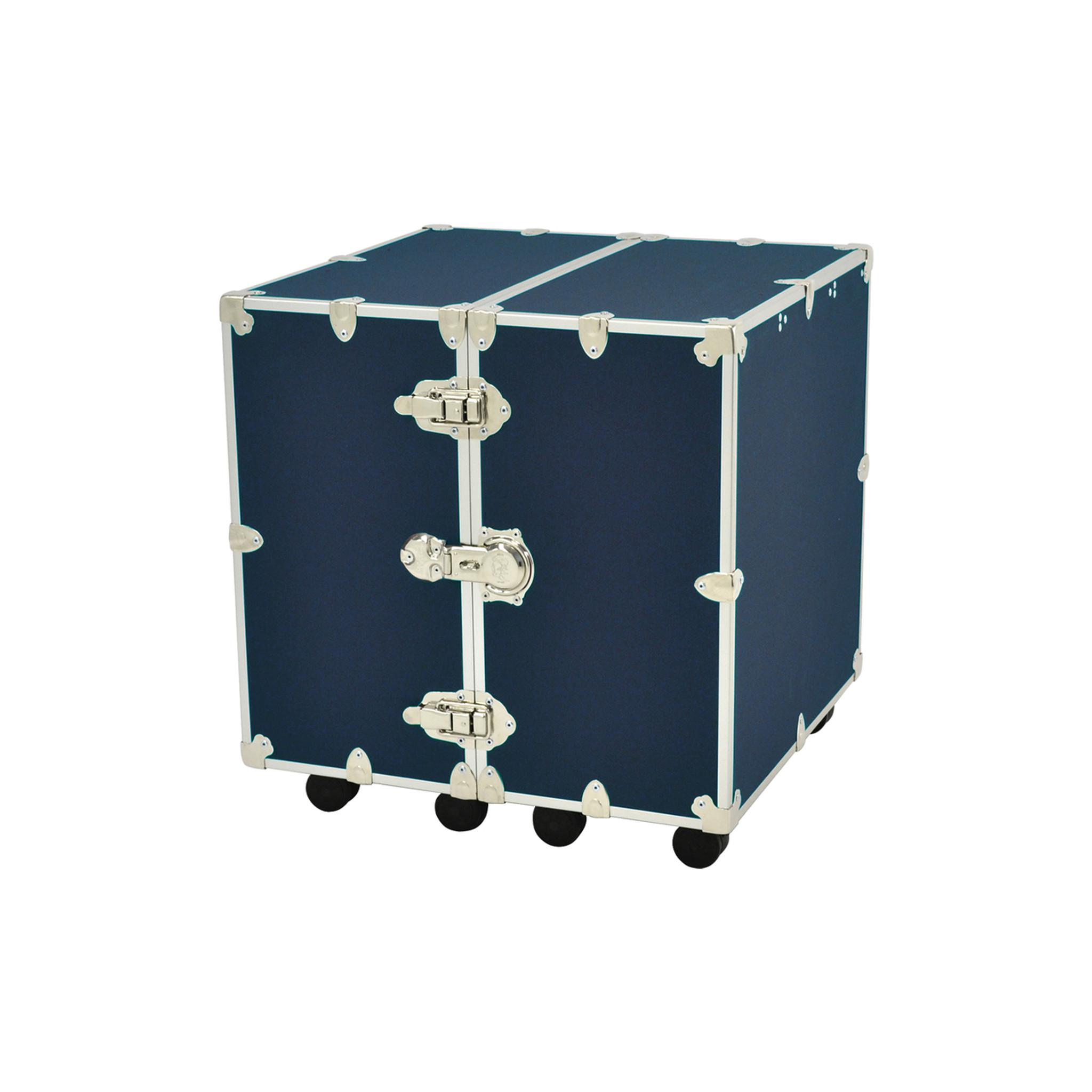 medium rhino urban wardrobe trunk in navy blue - Wardrobe Trunk