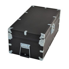"Large Indestructo Travel Trunk - 32"" x 17"" x 13"" - Long Handle View"