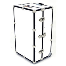 "Rhino Dance Star Wardrobe Trunk Front, 35"" x 21"" x 16""weighs 44 lbs."