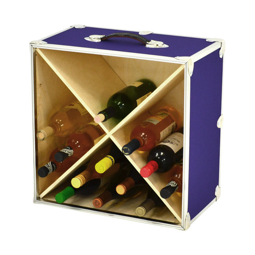 Rhino 24 Bottle Armor Wine Rack