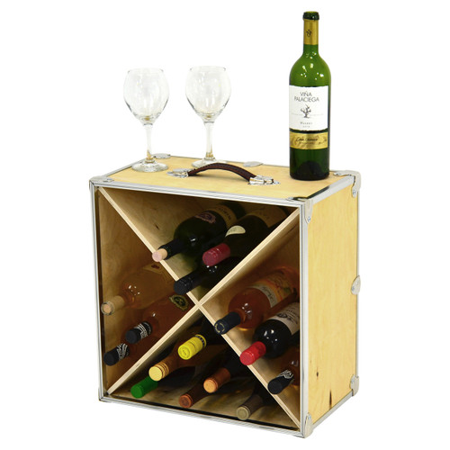 Rhino 24 Bottle Naked Wine Rack