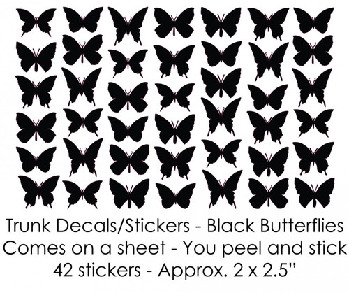 Butterfly Stickers/Decals