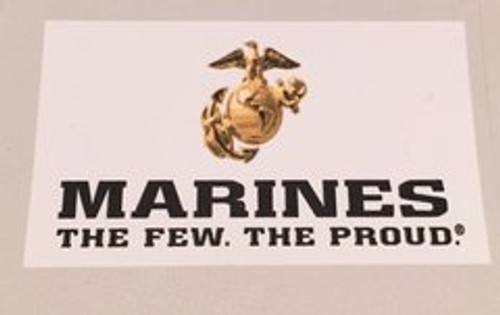 MC1 OFFICIAL LICENSED US MARINES CORP WHITE BACKGROUND PEN BLANK