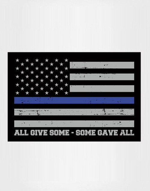 POLICE THIN BLUE LINE PEN BLANK (all gave some some gave all)