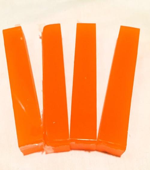 Orange Glow in the Dark Blank