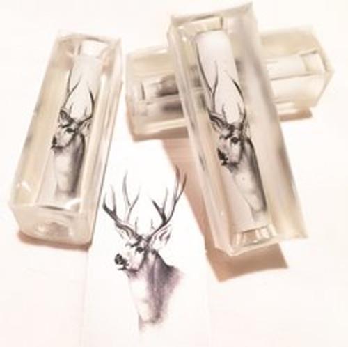 Scrimshaw Buck Deer 10pt Pen Blank