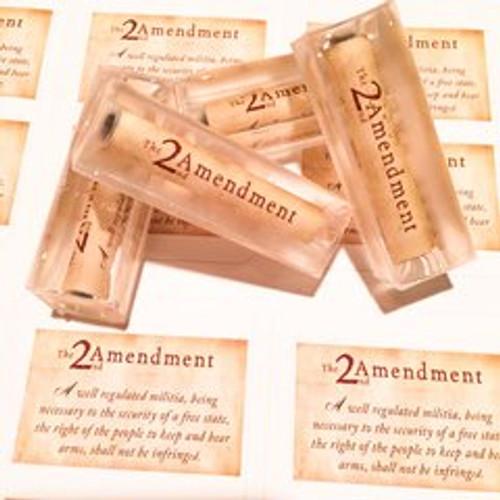 2ND AMENDMENT ACRYLIC BLANK