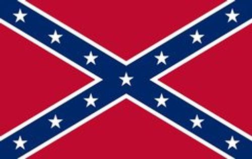 Confederate Battle Flag Rebel Pen Blank