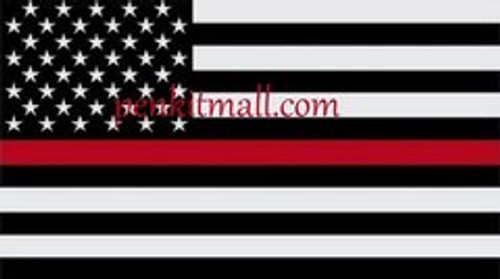 THIN RED LINE USA FIRE FIGHTER BLANK