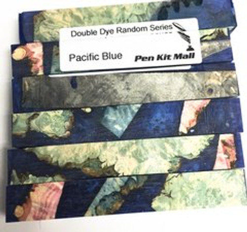 Double Dye Series PACIFIC BLUE