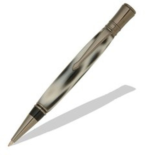 Executive Gun Metal Twist Pen Kit PKEXECPENG