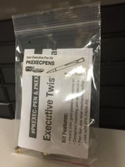 Executive Satin Twist Pen Kit PKEXECPENs