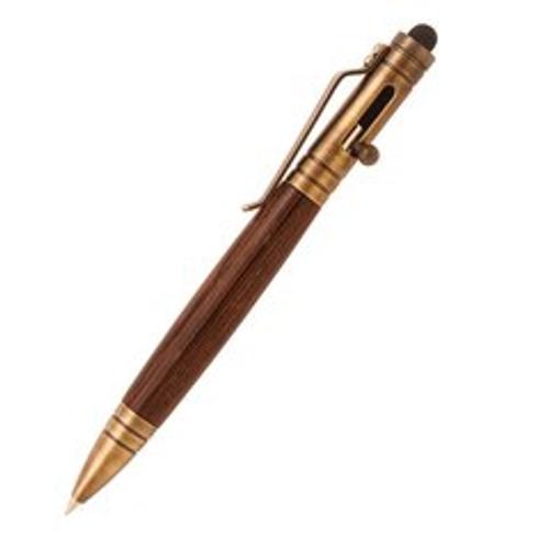PKTPENAB Bolt Action TEC Pen Kit ANTIQUE BRASS