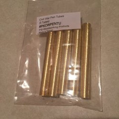 Civil War Pen Kit Replacement Tubes 5 pk